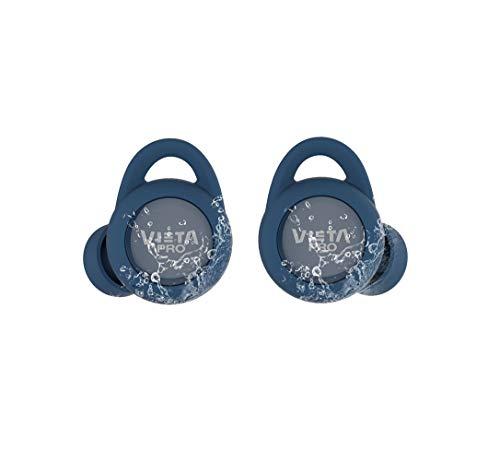 Vieta Pro VHP-TW20LB - Auricular Bluetooth 5.0, con función Manos Libres, Resistencia al Agua ipx7, 18 Horas de batería
