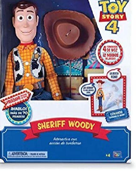 Toy Story Figura Articulada Woody Super Interactivo 40 cm