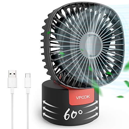 *Minimo* Mini ventilador portátil USB 3 velocidades plegable y rotación - Prime