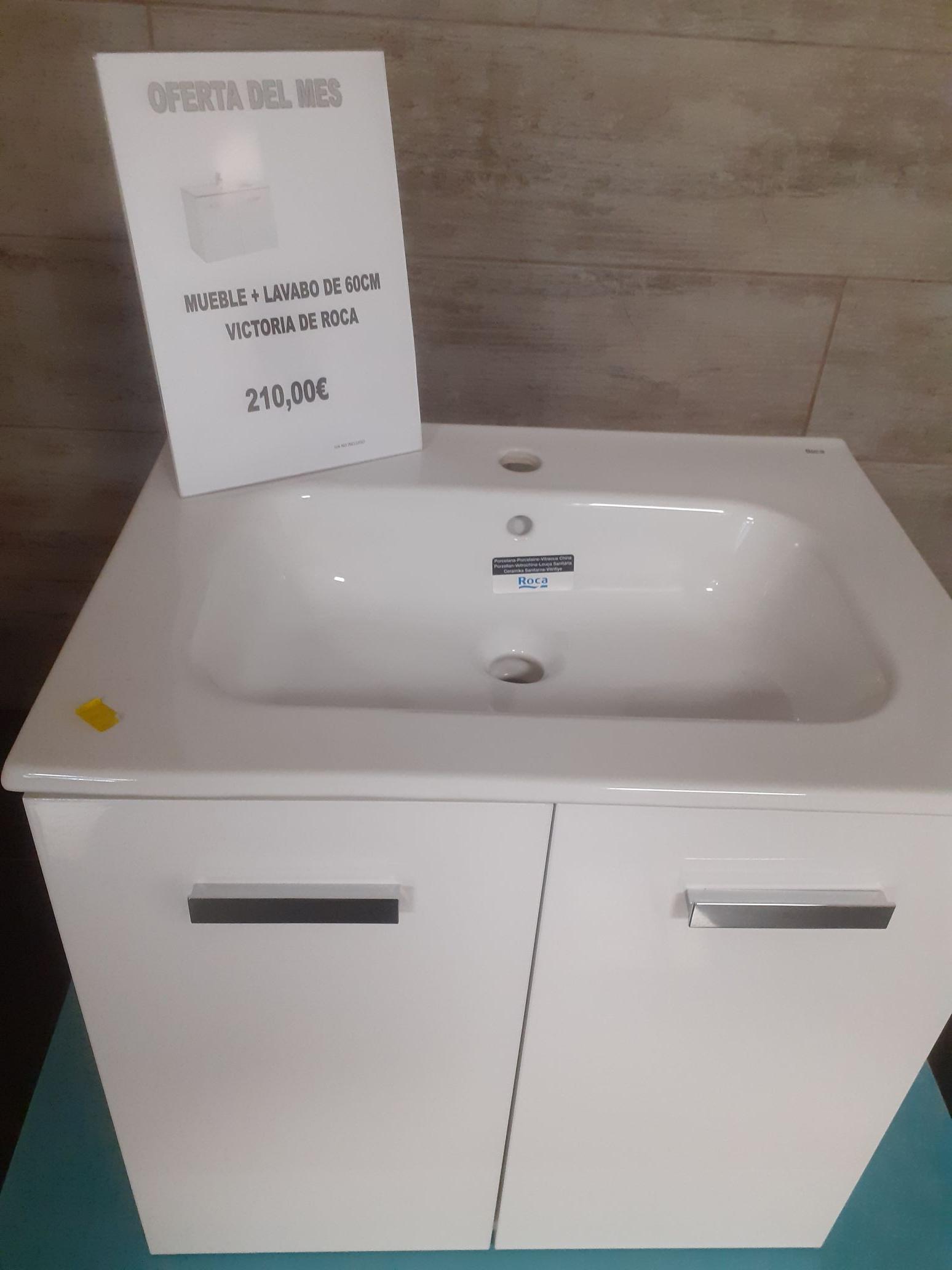 Mueble baño modelo victoria Roca, en Isolana Alcobendas