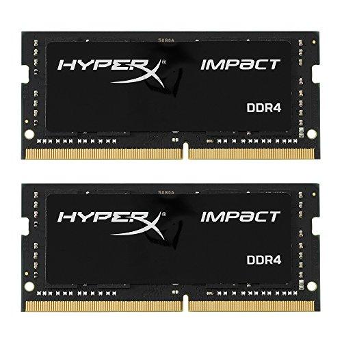 Kingston HyperX impact Memoria Ram 16gb DDR4 2400mhz CL14 2x8gb para portatil, reacondicionado en estado como nuevo.