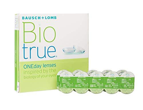 BAUSCH + LOMB - Biotrue - Lentes de contacto de reemplazo diario