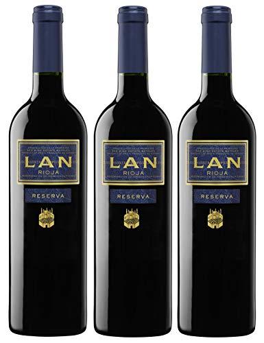 Vino Tinto LAN Reserva (Rioja) - 3 botellas de 75 cl