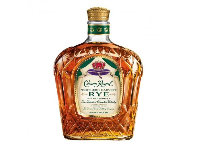 Whisky Crown Royal Northern Harvest Rye 45º 1 L (Mejor del mundo)