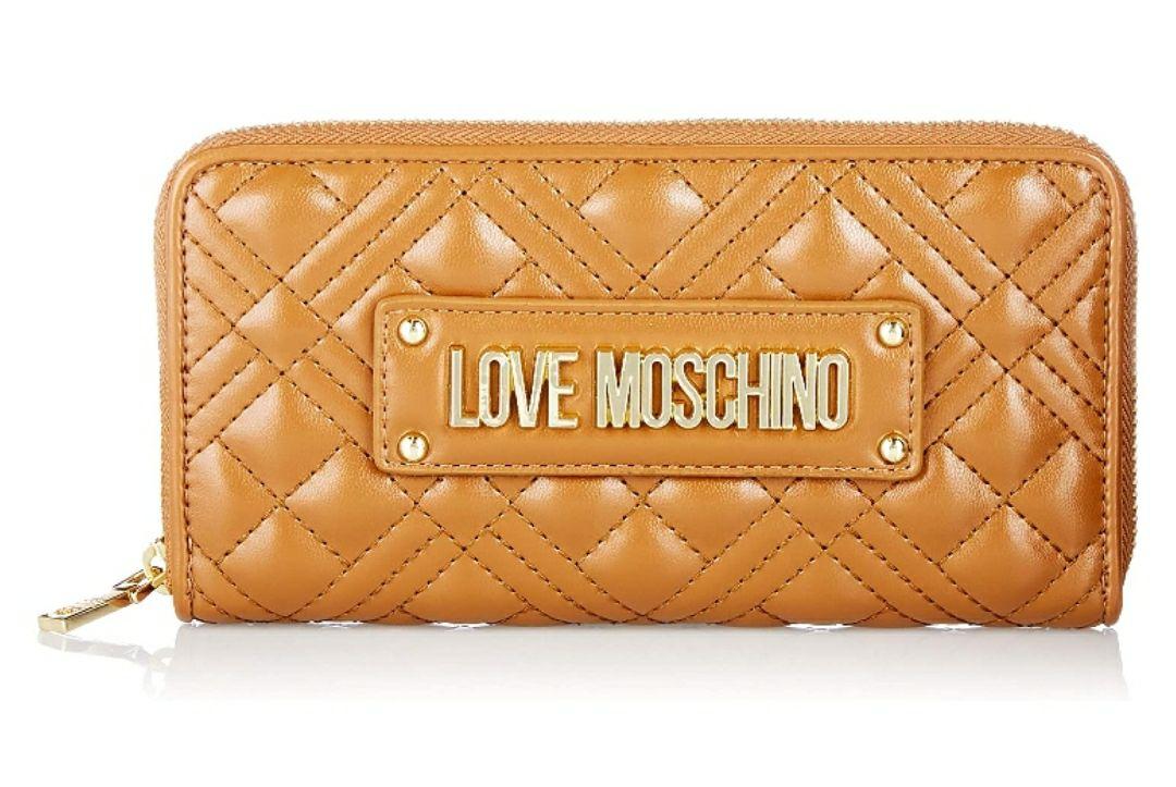 Love Moschino JC5630PP0BKA0200, Billetera para Mujer, marrón, Normale