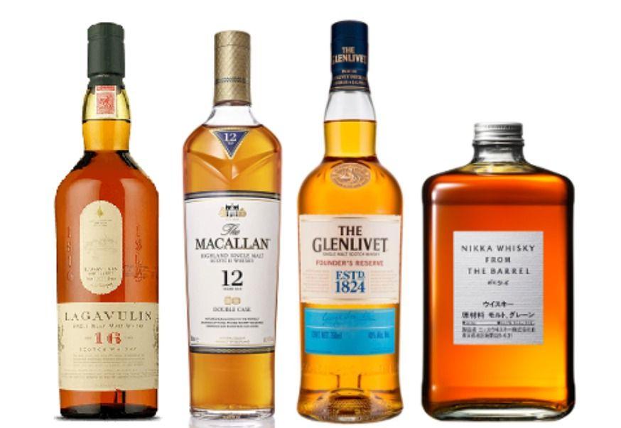 Alcoholes marcas top