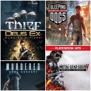 Playstation :: 5 juegos por menos de 5€