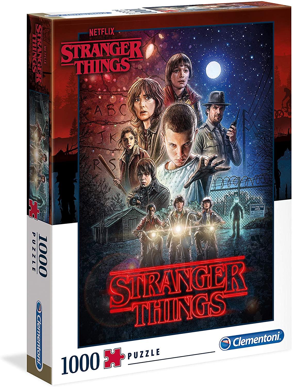 Puzzle 1000 Piezas de Stranger Things (39542.2). Clementoni. Póster de la primera temporada - Mínimo histórico vendido y enviado por Amazon