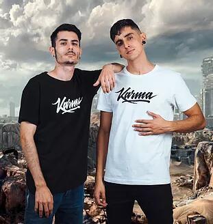 30% descuento en camisetas y tazas de Karma Boyz (envío gratis comprando 2 o más) [oferta de lanzamiento]