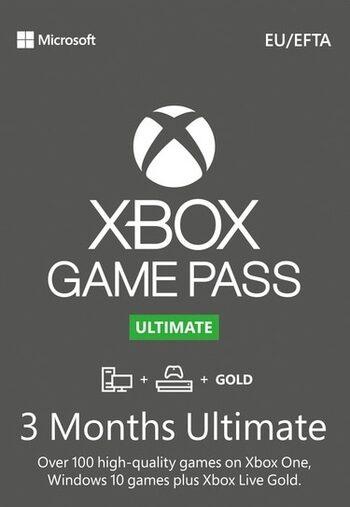 Código 3 MESES de Xbox Game Pass Ultímate