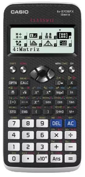 Calculadora - Casio FX-570SPXII-S-ES