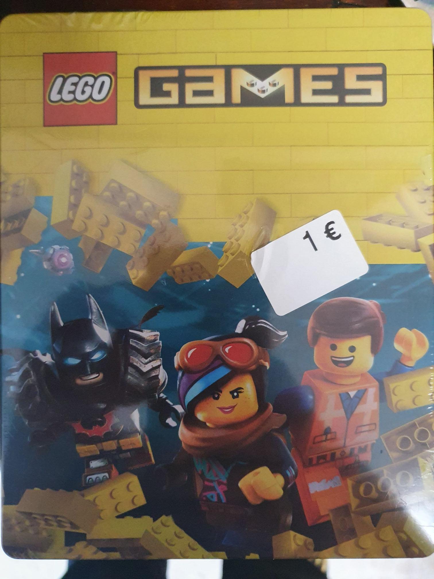 Caratula metalica SteelBook Lego Games en Carrefour Zahira (Cordoba)
