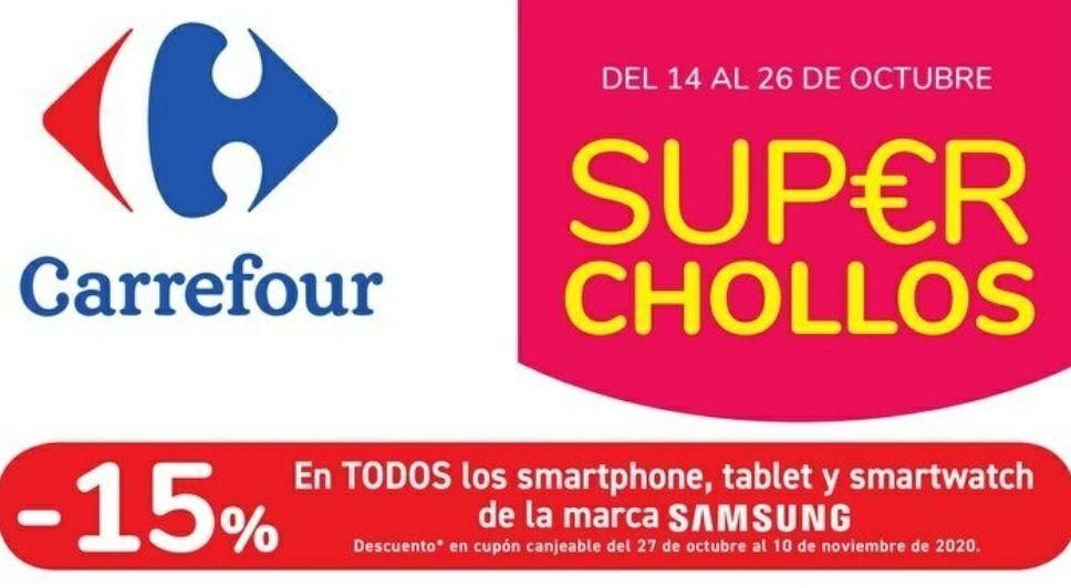 SUPER CHOLLOS DEL 14 al 26 de octubre en CARREFOUR.