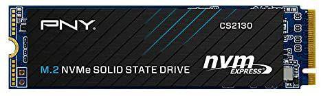 SSD NVMe de 500 GB PNY CS2130 / 3500 MB/s