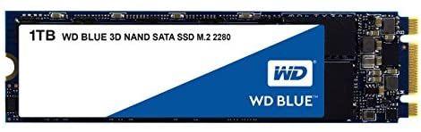 WD Blue 3D NAND SATA SSD M.2 2280 1 TB, 2.5 pulgadas