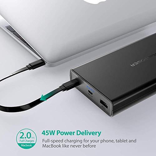 Powerbank RAVPower 20100mAh PD 45W !! potente y muy bien de precio !!