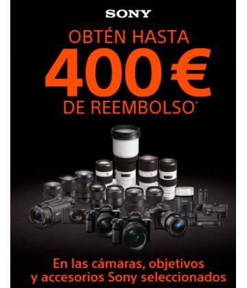 Rembolso de hasta 400€ al comprar productos Sony