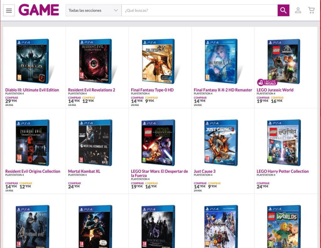Juegos PS4 rebajados (9€ - 30€)