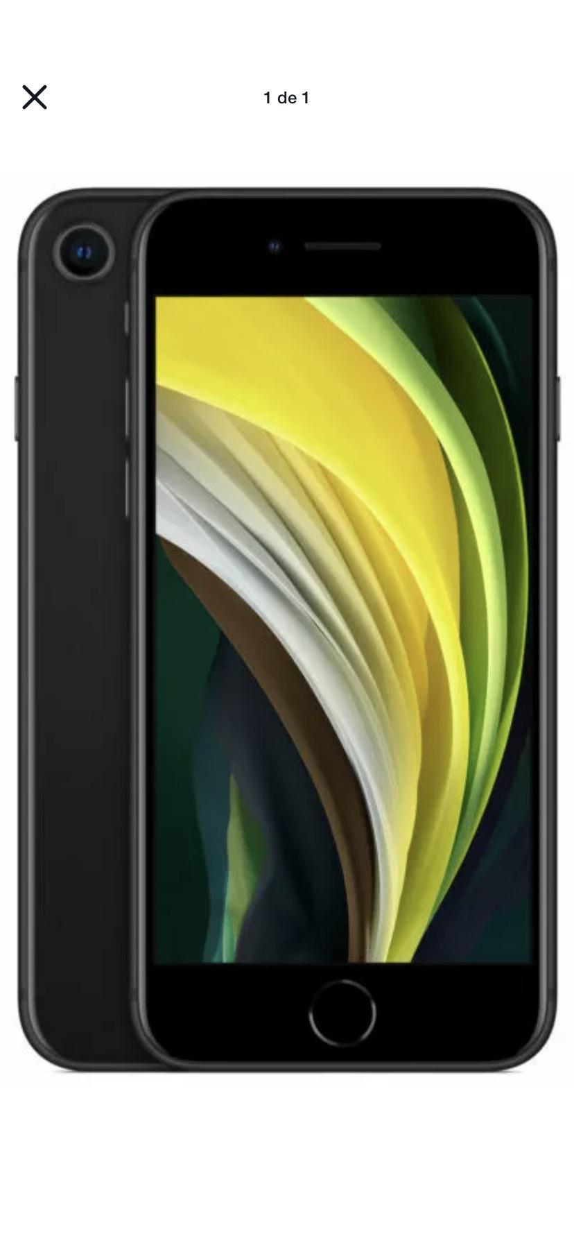 Apple iPhone SE 2.ª gen - 64GB - Negro, Garantía, envió desde España
