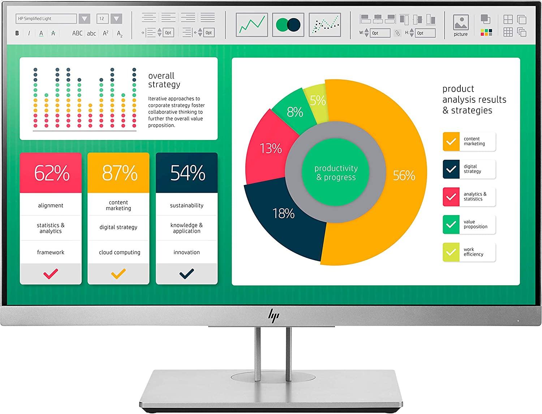 HP EliteDisplay E223 - Monitor de 21.5 pulgadas