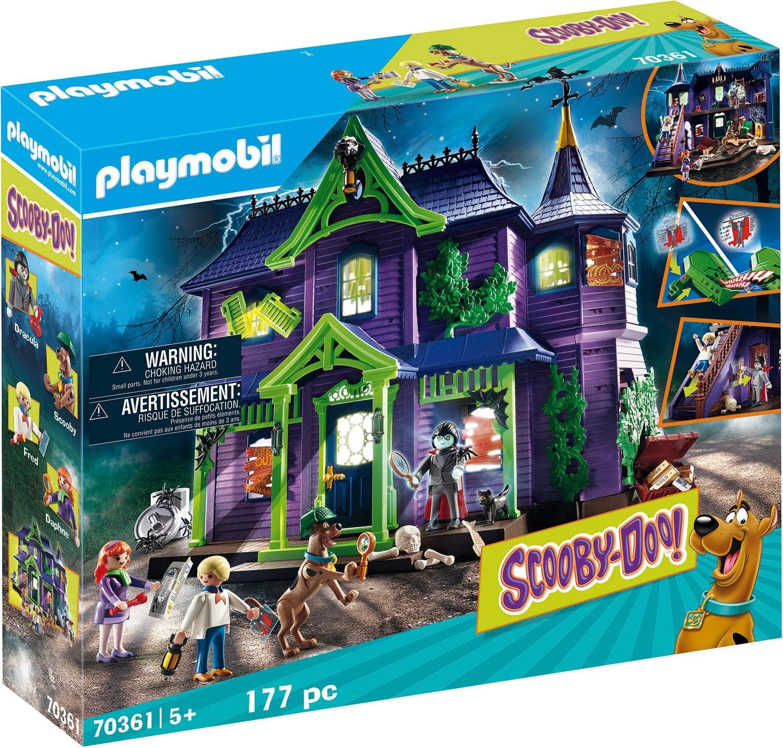 Playmobil Scooby-doo! casa embrujada solo 69.9€