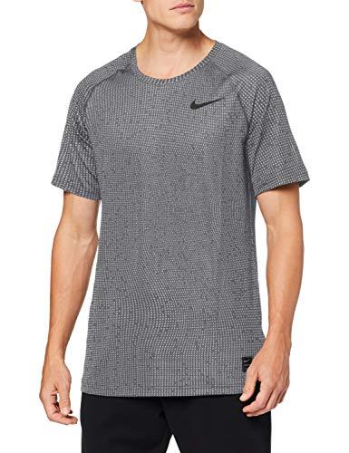 NIKE.Camiseta de Manga Corta, Hombre. Talla S. Color: Iron Grey.