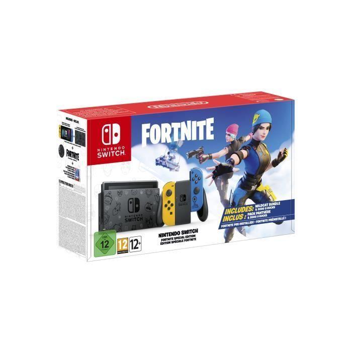 Nintendo Switch Ed Fortnite por 299€