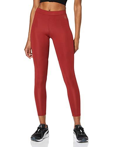 Leggings de mujer color rojo, talla 42
