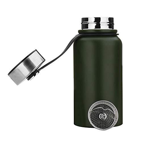 Botella térmica color verde 1,1L