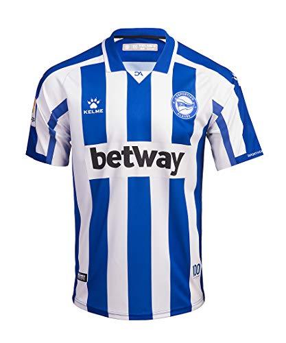 Camiseta Deportivo Alavés Kelme 20/21