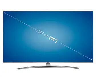 "Televisión 139,7 cm (55"") LED LG 55UN81006 4K, HDR, SMART TV"