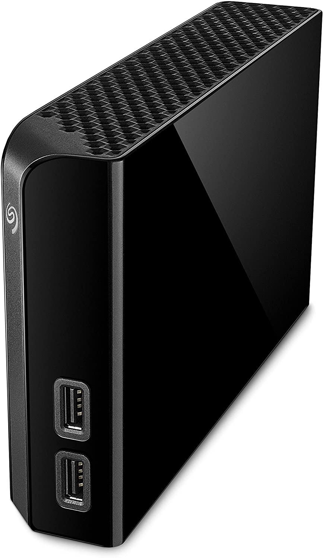 Seagate Backup Plus Hub, 6 TB, Disco duro externo HDD, USB 3.0 para ordenador de sobremesa, estación de trabajo