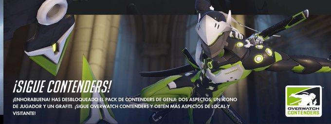 Contenders de Genji en Overwatch Gratis