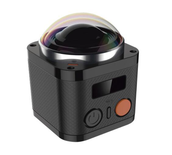 Cámara de realidad virtual 360º VR Quimmiq DV 4K Negra QIMMIQ