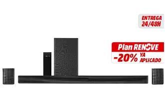 Barra de sonido 4.1 LG Sk5R altavoces inalámbricos, recogida en tienda física.