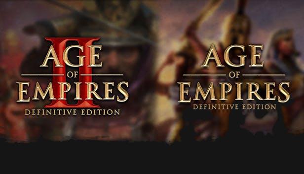 [PC - Steam] Bundle Age of Empires Definitive Edition + Age of Empires II Definitive Edition
