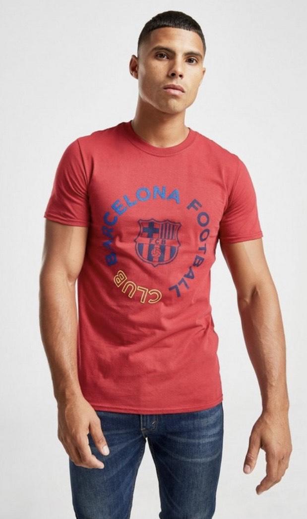 2 camisetas Official Team camiseta FC Barcelona Circle