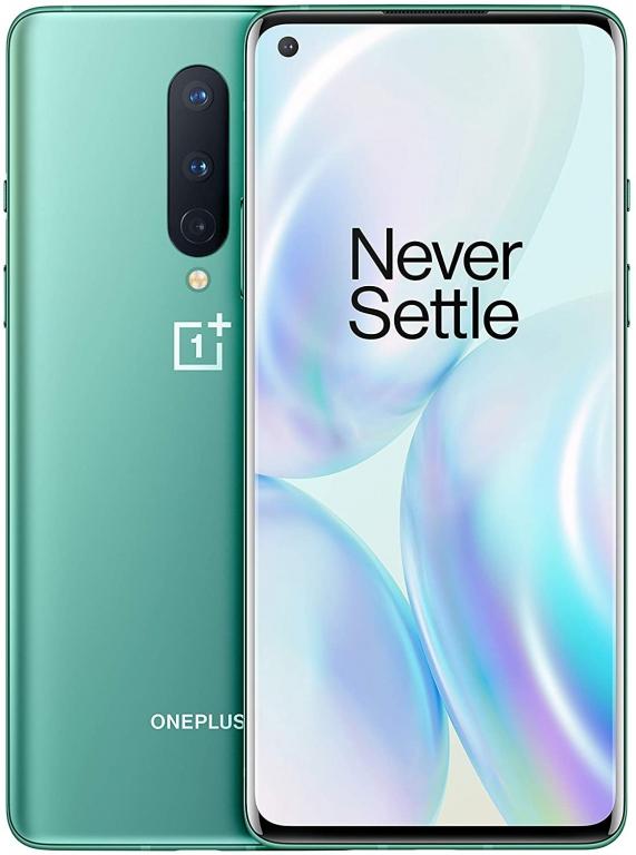 OnePlus 8 5G Dual Sim 12GB RAM 256GB Green EU