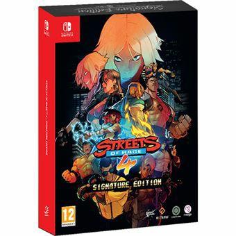 Streets of Rage 4 Signature Nintendo Switch(socios)