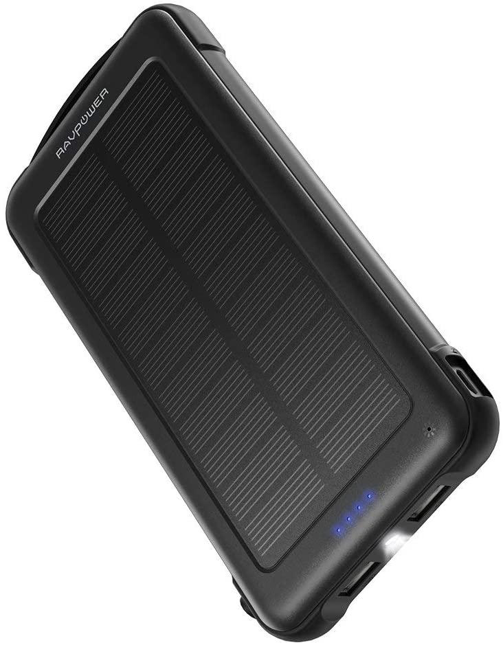 Batería externa 10.000mAh + Solar solo 8.5€