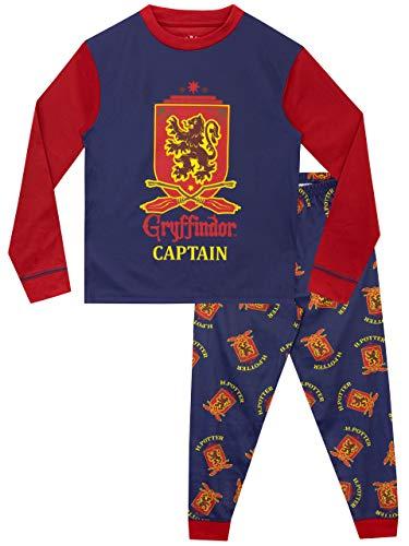 HARRY POTTER Pijama para Niños Gryffindor. Tamaño: 5-6 años