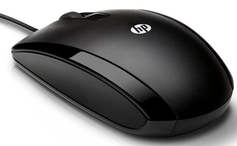 HP X500 - Ratón con cable (3 botones, óptico, USB), negro (Precio Mínimo)