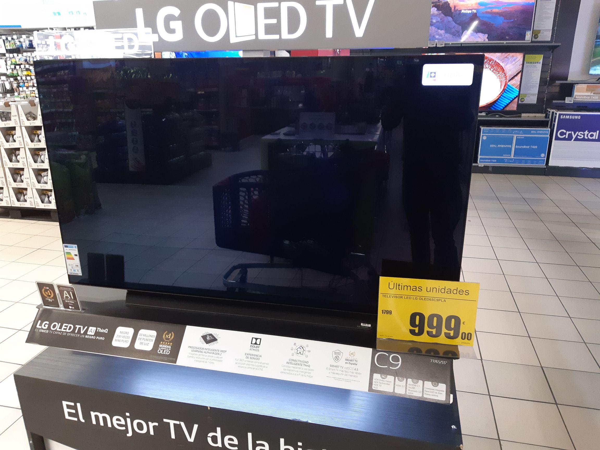 LG OLED 65C9PLA Última unidad (Carrefour San Sebastián de los Reyes)