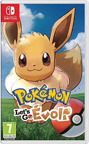 Pokémon : Let's Go, Evoli (Eevee) - Nintendo Switch [Importación francesa]