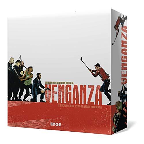 Edge Entertainment- Venganza - Juego de tablero - Juego de Mesa.