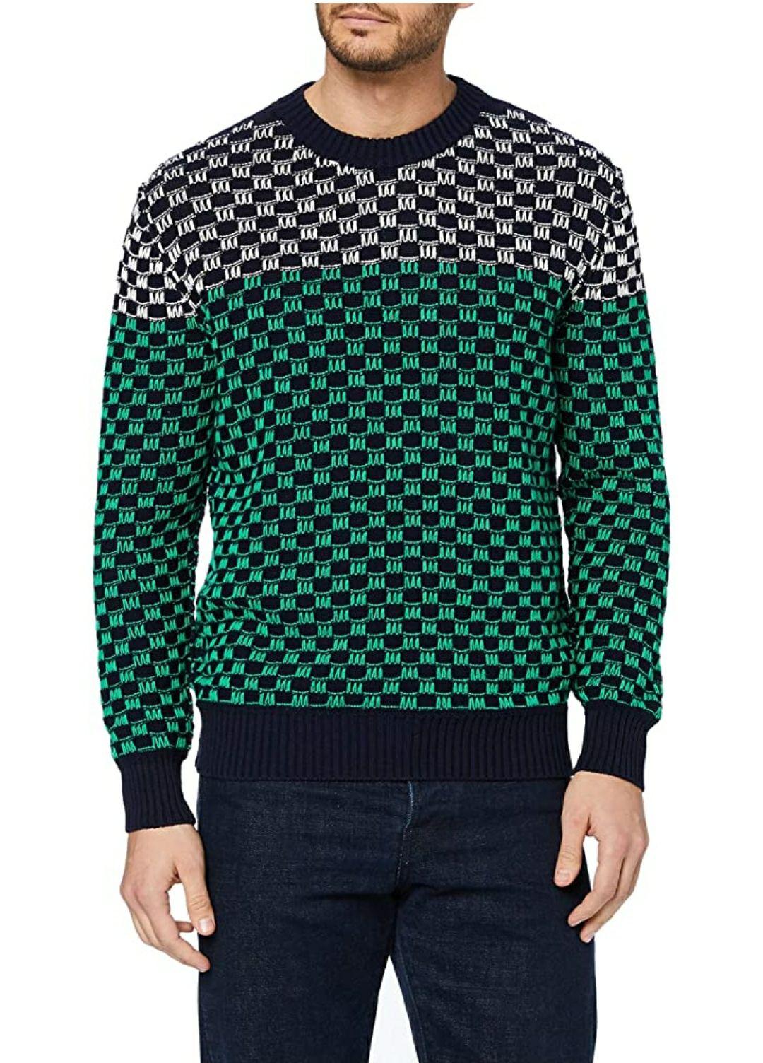 TALLA S - United Colors of Benetton Maglia G/C M/L Jersey para Hombre
