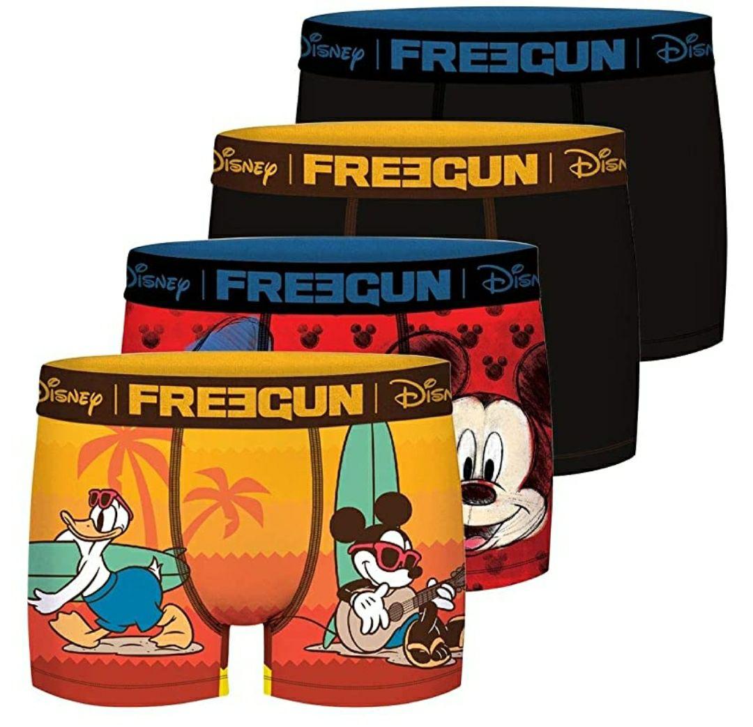 TALLA 10/12 AÑOS - FREEGUN Pantalones (Pack de 4) para Niños