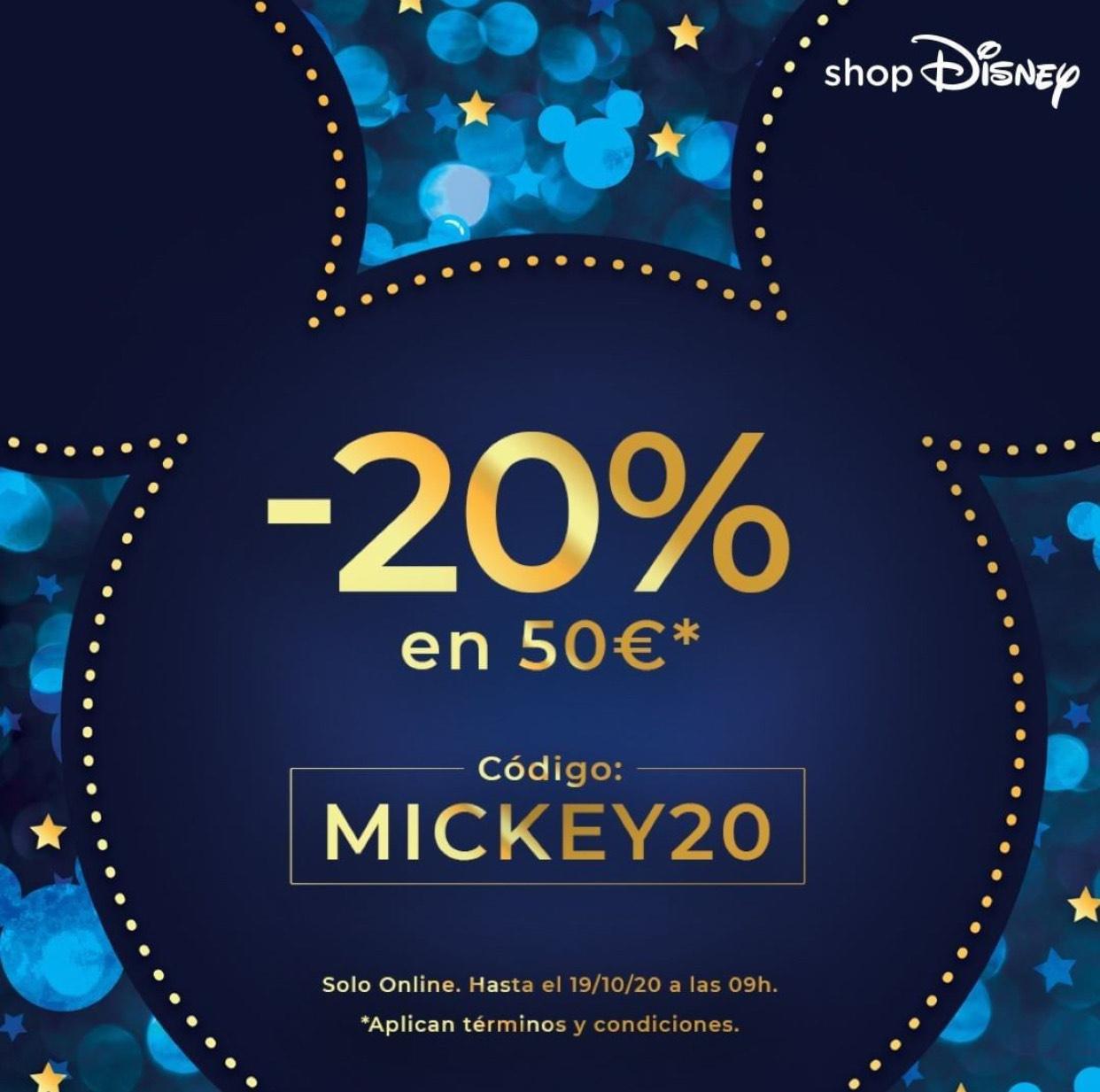 -20% gastando 50 €