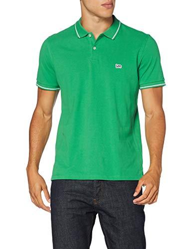 Lee Pique Polo Hombre - Color: Green