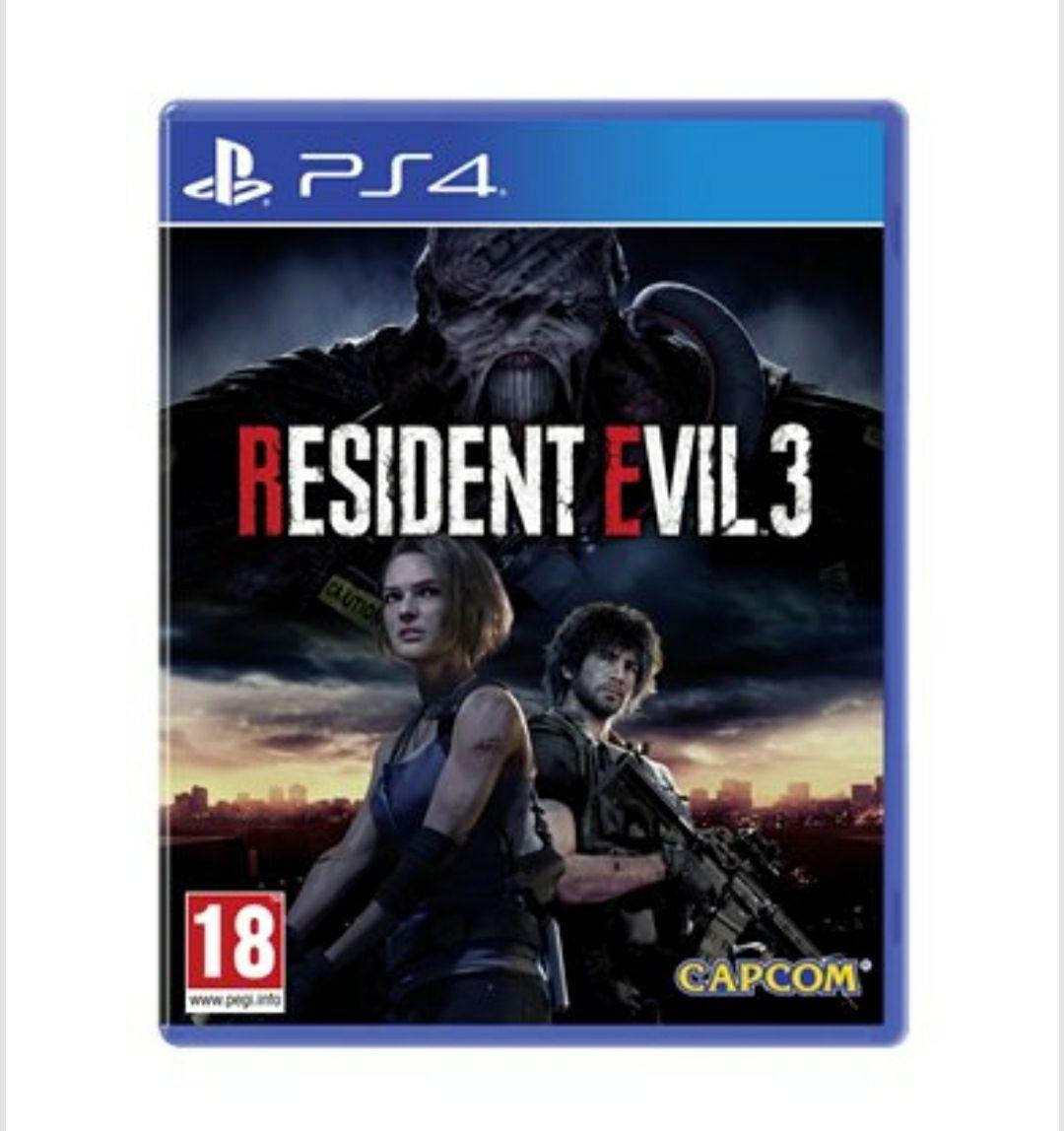 Resident Evil 3 para PS4